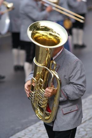 Tuba-Spieler
