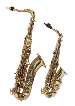 Altsaxophon-Tenorsaxophon