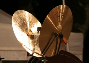 Becken im Orchester-Schlagwerk