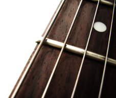 Bundstab-Gitarre