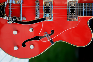 E-Gitarre, Vibratohebel