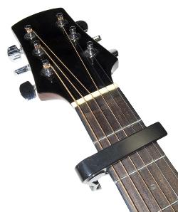 Kapodaster-Gitarre