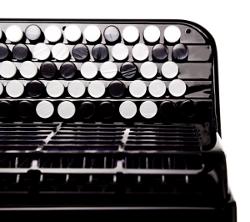 Knopfakkordeon, Tastatur