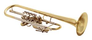 Trompete mit Drehventilen