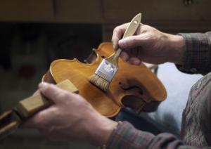 Violine, Lackierung