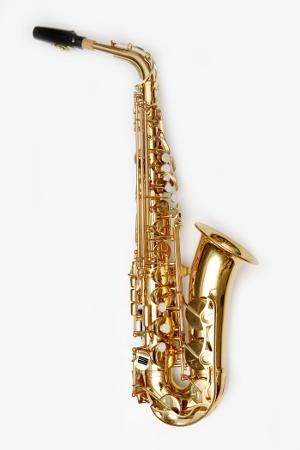Altsaxophon rechte Seite (Fotolia)