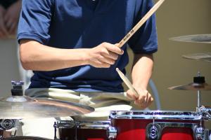 Trommel, Matched-Stick-Haltung